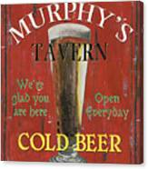 Murphy's Tavern Canvas Print