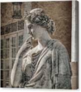 Achilleion, Corfu, Greece - The Muse Caliope Canvas Print