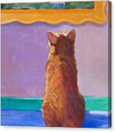 Museum Cat 2 Canvas Print