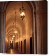 Museum Hallway Canvas Print