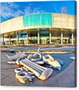 Museum Of Contemporary Art In Zagreb Canvas Print