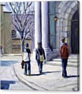 Museum Walks Canvas Print