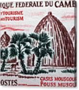 Musgum Houses Canvas Print