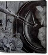 Mushroom Dinner Canvas Print