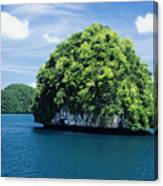 Mushroom-shaped Island Canvas Print