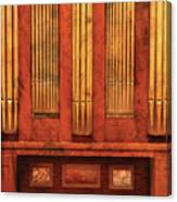 Music - Organist - Skippack  Ville Organ - 1835 Canvas Print