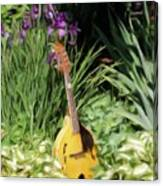 Music And Flowers Canvas Print