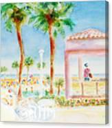 Music At Orange Beach Canvas Print