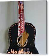 Music City Guitar Canvas Print