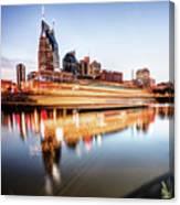 Music City Motion - Nashville Skyline Square Format Canvas Print