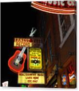 Music City Nashville Canvas Print