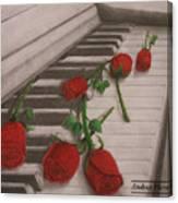 Music Creates Beautiful Things Canvas Print