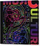 Music Culture Canvas Print