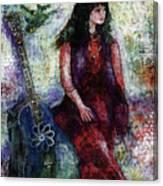 Music Feeds Her Spirit Too Canvas Print