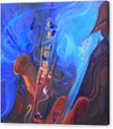 Music For Saxy Canvas Print