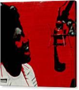 Music Icons - Aretha Franklin Ill Canvas Print