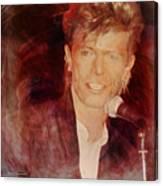 Music Icons - David Bowie Iv Canvas Print
