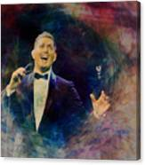 Music Icons - Michael Buble IIi Canvas Print
