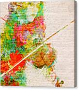 Music In My Soul Canvas Print