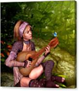 Music In The Woods Canvas Print