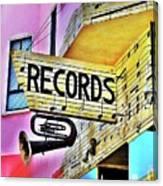 Its About Vinyl Canvas Print