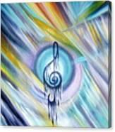 Music Reflexion Canvas Print