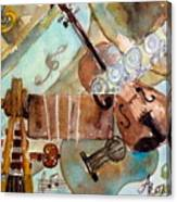 Music Shop Canvas Print