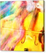 Music To My Eyes Canvas Print