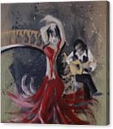 Musica Espaniol Canvas Print