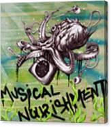 Musical Nourishment Canvas Print