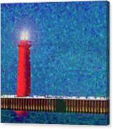 Muskegon Lighthouse Canvas Print