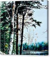 Muskoka Morning Canvas Print