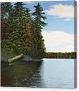 Muskoka Shores Canvas Print