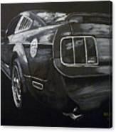 Mustang Rear Canvas Print