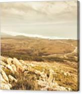 Muted Mountain Views Canvas Print