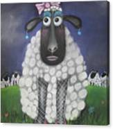 Mutton Dressed As Lamb Canvas Print