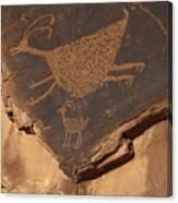 Mv Petroglyph 7364 Canvas Print