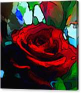 My Birthday Rose Canvas Print