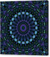 My Blue Garden Canvas Print