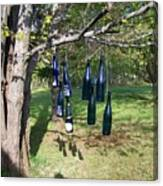 My Bottle Tree - Photograph Canvas Print
