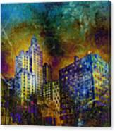 My City Providence Canvas Print