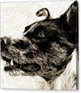 My Dog Canvas Print