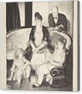 My Family, Second Stone George Bellows  Canvas Print