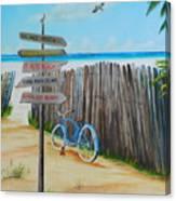 My Favorite Beaches Canvas Print