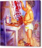 My Favorite Painter Canvas Print
