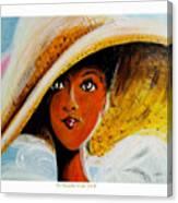 My Favorite Straw Hat II Canvas Print
