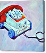 My First Eye Phone  Canvas Print