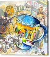 My First Memphis Mug Canvas Print
