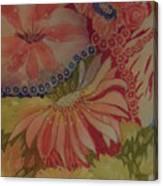 My Flower Garden Canvas Print
