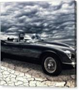 my friend the Jag Canvas Print